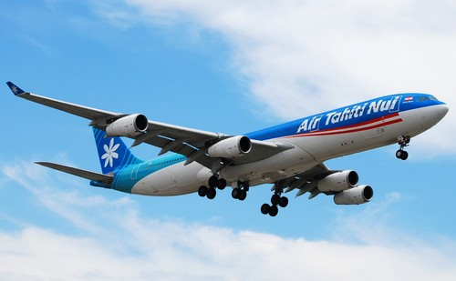 самолет Air Tahiti Nui
